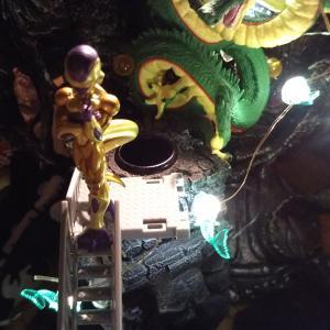 ドラゴンボール HG ゴールデンフリーザ(と神龍)