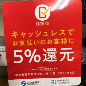 キャッシュレス・消費者還元事業対象店舗なんですが・・・・&ゴロさん(^^)/