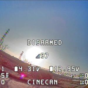 Eachine Cinecan 4K Cinewhoop 完全レビュー!⑩【金属板除去後のフライト編】