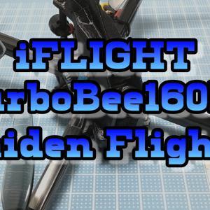 【U200g⌘Toothpick】iFlight TurboBee 160RS 4Inch DIY Kit 完全レビュー!④【テストフライト編】