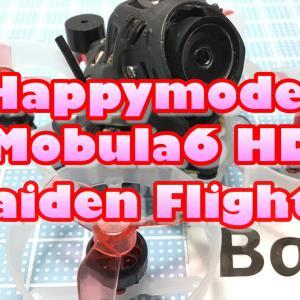 Happymodel Mobula6HD 65mm 1S CineWhoop 完全レビュー!③【テストフライト(Redpine)編】