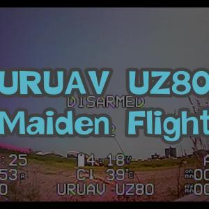 【19.5g】URUAV UZ80 80mm 1S DIY Toothpick 完全レビュー ②【仕上げの加工編】