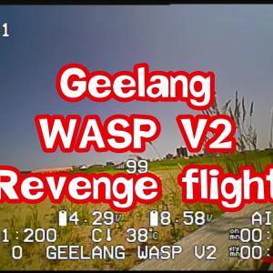 【超軽量Toothpick】GEELANG WASP V2 2.5inch 完全レビュー!⑥【リベンジフライト編】