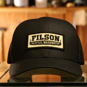 """輪廻するアメカジ """"FILSON LOGGER MESH CAP"""""""
