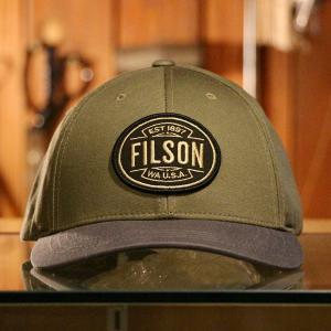 """私も強く繊細でありたい """"FILSON LOGGER CAP"""""""