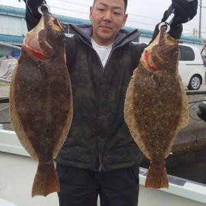 淡路島福良港より鳴門海峡にてアジの泳がしでゲット