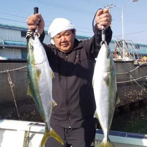 鳴門海峡にてアジの泳がしとアジサビキでゲット