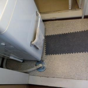 洗濯排水の流れが悪い