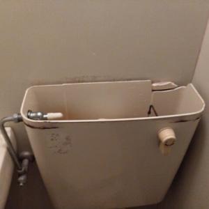 トイレタンク破損