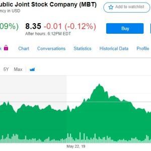 【朗報】MBT(モバイル・テレシステムズ)、米国上場を維持