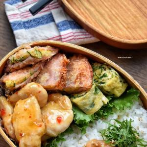 【2品弁当】♡今週最後のお弁当はリメイク弁当♡
