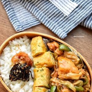 【2品弁当】【胸様レシピ】♡甜麺醤香る♡胸肉de回鍋肉♡レシピあり♡