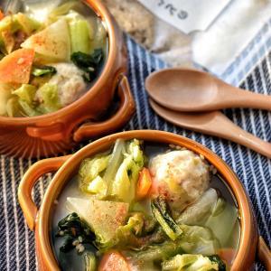 ♡心からあったまる♡のどぐろのだし塩de野菜たっぷり鶏団子スープ♡レシピあり♡
