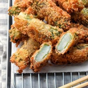 【中途半端な食材消費】♡ザクうま♡大根の豚巻きフライ♡レシピあり♡