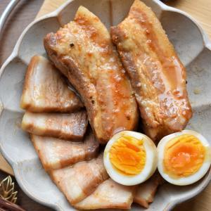 【丼弁当】♡レンチんレシピ♡豚バラブロックdeチャーシュー♡レシピあり♡
