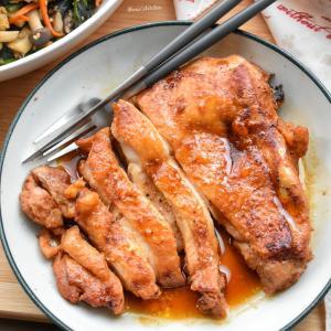 【丼弁当】♡タレが美味し過ぎる♡焼き肉チキン♡レシピあり♡