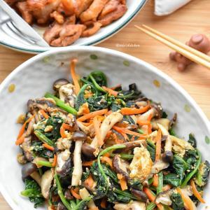 【5分de簡単】♡野菜たっぷり♡具沢山な炒めナムル♡レシピあり♡