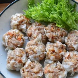 【リメイクレシピ】♡激うま過ぎる♡筑前煮風煮物de具沢山焼売♡レシピあり♡