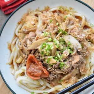【作って置くと便利】♡豚バラときのこの甘辛煮♡レシピあり♡
