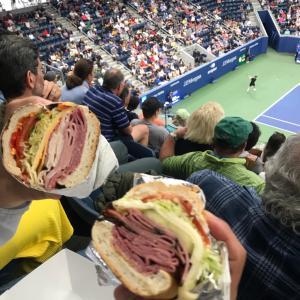 US オープンテニス、おすすめフード