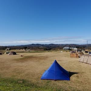 今年初のソロキャンプより。