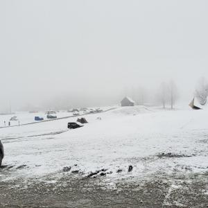 またまたのSPHQより雪が?