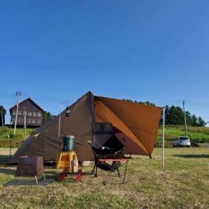 今日もキャンプ日和ですなーーー‼️