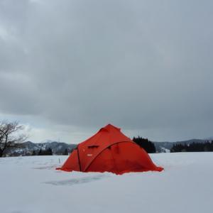 やっとキャンプです