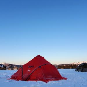 最高なキャンプの朝から