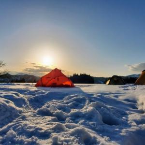 2021年2月おぐに森林公園キャンプ場①