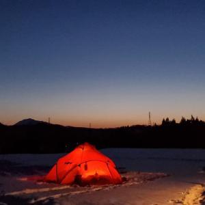 2021年2月おぐに森林公園キャンプ場②