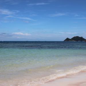 【タオ島】ビーチでごろつき一気に真っ黒焦げになった最終日