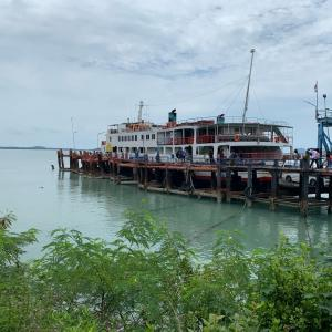 【パンガン島→バンコク】船とバスと飛行機で帰る方法