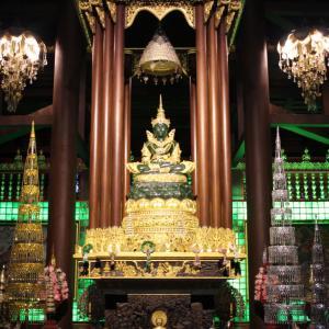 【チェンライ】市内のお寺と夜のマーケットで食べ歩き