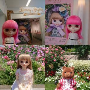 6/20(土)横浜人形の家のブライス展に行って山下公園で撮影してきました