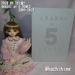 9/19(土)の徒然#SD#ARASHI at 5 DOMES 2009-2019が届いた