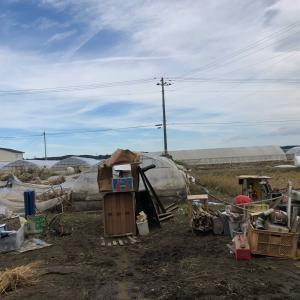 浸水被害のあった大崎市鹿島台、大沼ファームさんへ