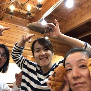 台風19号の水害から生き残った  「大沼ファームの仙台金時芋ケーキ」1dayカフェ