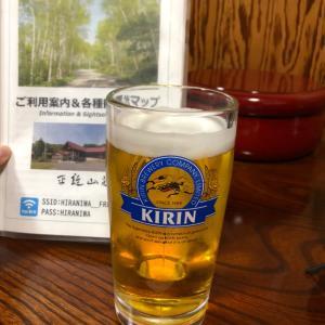 久しぶりの生ビール