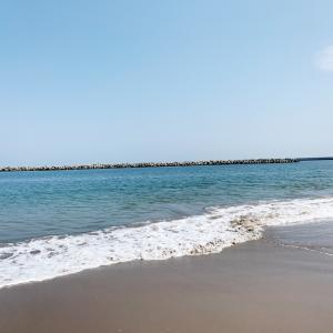 お盆休み最終日は...海デート。