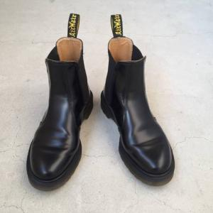 新年に靴磨き。購入3ヵ月後のドクターマーチン。