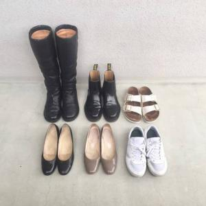 引っ越し前に。靴の数を6足に減らす。