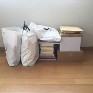 引越の荷造りと掃除と捨て祭り。