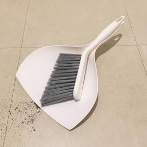 玄関掃除を好きにしてくれた100均のミニ箒&ちりとり