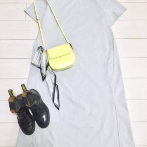 少ない服の使える夏服【GUアクティブストレッチTワンピース】