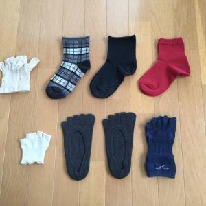 靴下の整理。やっぱり7足がちょうどいい。