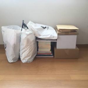 母の夏休みの宿題は、荷物を減らすこと。