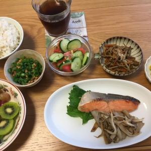 先週の夕ごはん【COOPのお魚食材に頼る】