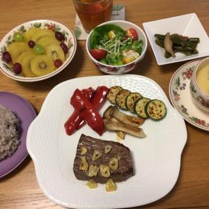 先週の夕ごはん【グラスフェッドビーフを食べてみました】