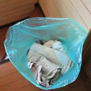 【捨て活は物欲を制す】クローゼットの不要な服を衣類のリサイクル回収へ